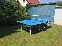 Stolní tenis - chata k pronájmu Drahenice
