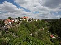 Pohled z Pirkštejna - Rataje nad Sázavou