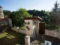 Zahrada - ubytování Rataje nad Sázavou