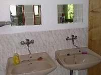 Petrův zdar - koupelna - pronájem chaty Županovice