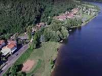 Petrův zdar - pohled Županovice - chata k pronajmutí