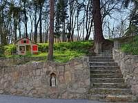 Zahrada - chalupa k pronájmu Městečko u Chotýšan