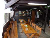 restaurace - chata k pronajmutí Hodkov