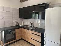 Společná kuchyně - apartmán ubytování Županovice
