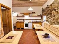 kuchyňka - chalupa k pronájmu Krásná Hora nad Vltavou - Vletice