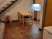 celkový pohled z obývacího koutu apartmán 3 - pronájem Klučov