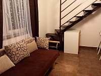 obývací kout apartmán 1 - Klučov