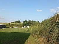 výhled z terasy - Klučov