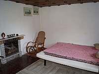 Obývací pokoj - chata k pronájmu Kamýk nad Vltavou