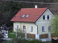 Levné ubytování  Slapská přehrada Chalupa k pronájmu - Županovice