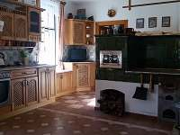 Kuchyně - chalupa k pronajmutí Černíkovice