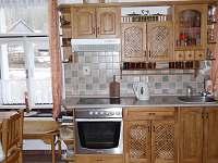 kuchyňská linka - pronájem chalupy Černíkovice