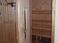 sauna - chalupa k pronajmutí Černíkovice