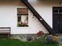 Vchod - chalupa k pronajmutí Černíkovice