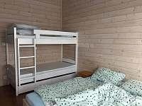 ložnice č.1 pro 4 osoby - chata k pronajmutí Pečičky