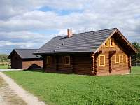Srub k pronájmu - dovolená Střední Čechy rekreace Bezděkov pod Třemšínem