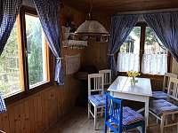jídelna - pronájem chaty Lašovice