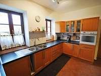 kuchyne - ubytování Bušovice - Sedlecko