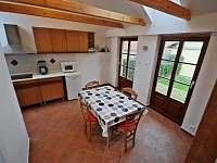 kuchyne v apartma duplex - Bušovice - Sedlecko