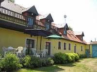 Penzion ZUHANSTA Bušovice pohled ze dvora - ubytování Bušovice - Sedlecko