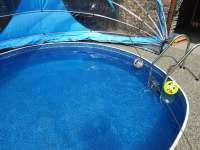 bazén se slanou vodou. - Kostelní Střimelice