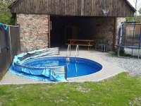 bazén se solárním ohřevem. - Kostelní Střimelice
