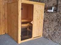 finská sauna - chalupa k pronajmutí Kostelní Střimelice