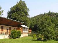 Chata k pronajmutí - okolí Hostěradic