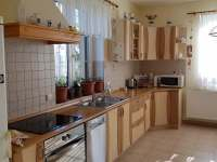 kuchyň - chata k pronajmutí Řitka