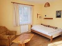 ložnice - pronájem chaty Řitka