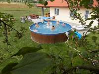Prostorný bazén