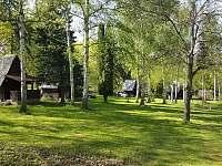Levné ubytování  Jez Žampach Chatky na horách - Nalžovice - Oboz