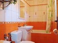 Novější chalupa - 1. koupelna