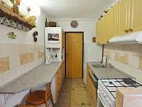Novější chalupa - kuchyně