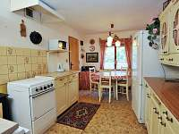 Starší chalupa - kuchyně