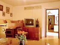 Starší chalupa - obývací pokoj