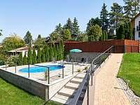 Bazén - chata k pronájmu Slapy - Lahoz