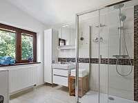 Koupelna - chata ubytování Slapy - Lahoz
