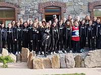 Norská reprezentace hokejistek v našem penzionu