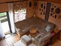 Pohled z horní ložnice