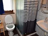 Sprcha se záchodem