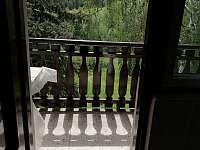 Vstup na balkon - chata k pronajmutí Vlková