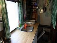 Kuchyňka - horní patro chaty