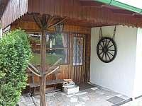 Veranda - horní patro chaty