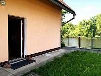Terasa 2 - chalupa ubytování Horní Počaply - Křivenice