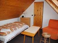 Chata Lucie - podkrovní pokoj