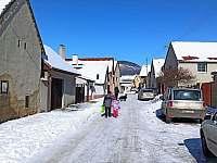 Chata Lucie - zimní fotky - Mnetěš