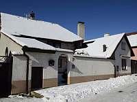 Chata Lucie - zimní fotky - k pronajmutí Mnetěš