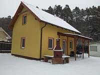 prosinec - chata k pronajmutí Kostelní Střimelice
