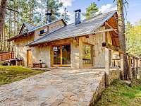 Chata k pronajmutí - dovolená Domažlicko rekreace Líšina